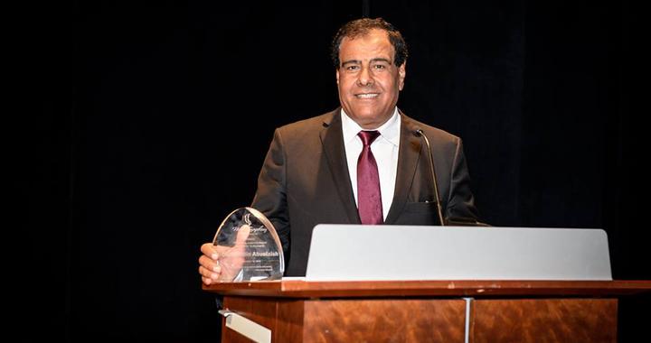 الدكتور عز الدين أبو العيش