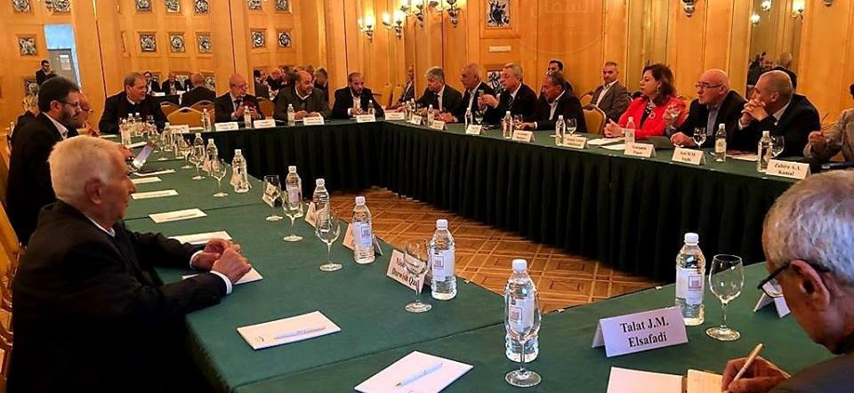 صورة من لقاء الفصائل في موسكو