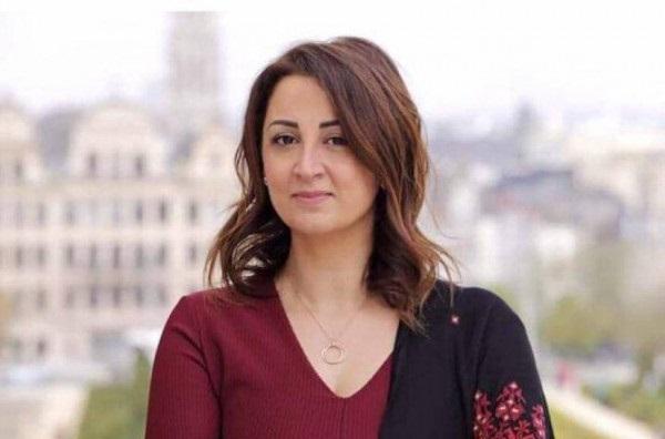 ليلي وافي أول فلسطينية ترشح نفسها للبرلمان البلجيكي
