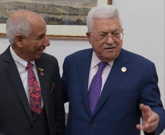الدكتور عياش يعلن استعداده لاستضافة مؤتمر توحيد الجاليات الفلسطينية في اوروبا