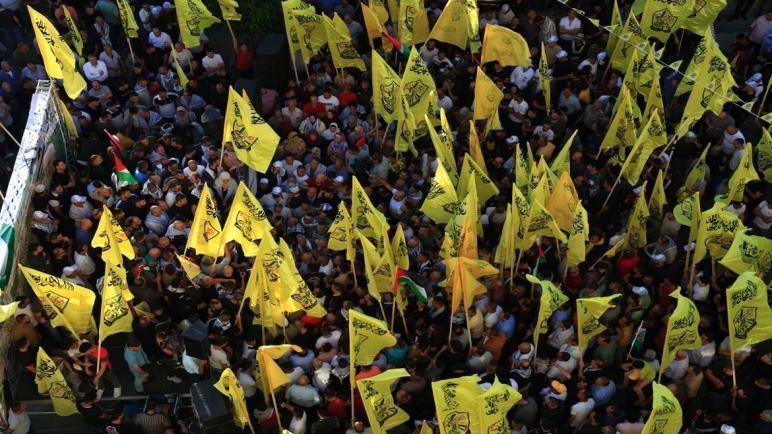 الآلاف يشاركون بمهرجان جماهيري في جنين دعما للشرعية وانتصارا للقدس والرجوب يؤكد على أن إعمار غزة أولوية لنا ولكن يجب أن يكون عنوانه الشرعية الفلسطينية