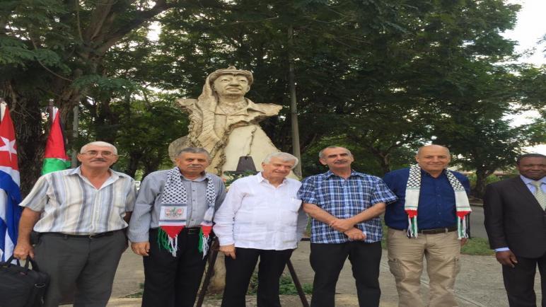سفارة فلسطين وحركة فتح في كوبا تحيي ذكرى استشهاد القائد ياسر عرفات