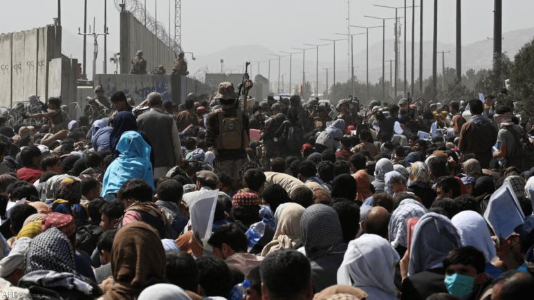 """تحذيرات : """"خطرٌ مرتفع للغاية بوقوعِ هجوم إرهابي كبير"""" فى محيط مطار كابل ،، متابعة : شوقى الفرا"""