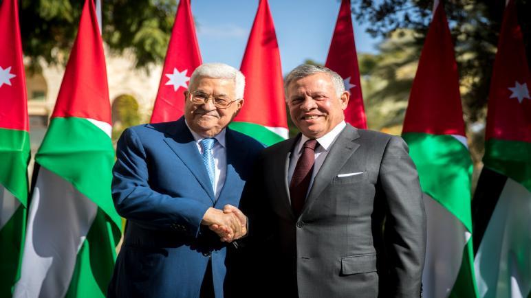 الدكتور محمد عياش يتلقى برقية من جلالة الملك عبد الله ردا على برقية التهنئة لجلالته بمناسبة عيد الاستقلال
