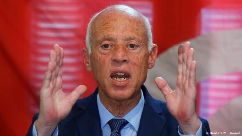 قيس سعيّد: يجب إنقاذ تونس من الذين عبثوا بعيش المواطنين ،، متابعة : شوقى الفرا