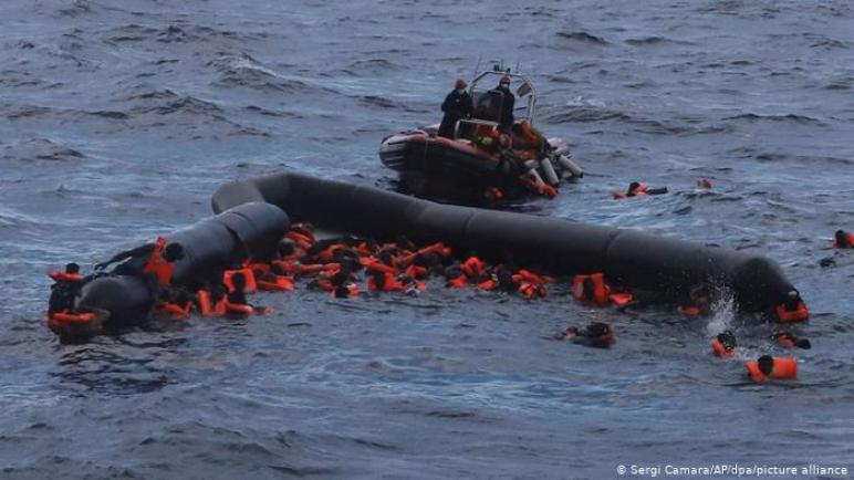 فقدان أثر 70 مهاجرا غادروا سواحل ليبيا نحو أوروبا ،، متابعة : شوقى الفرا