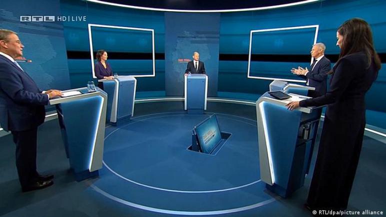 مناظرة انتخابية ثانية أمام لاشيت لخلافة ميركل؟ ،، متابعة : شوقى الفرا
