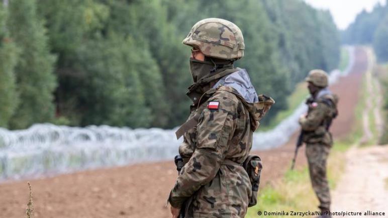 جثث إحداها لامرأة عراقية عند حدود بولندا وبيلاروسيا،، متابعة : شوقى الفرا