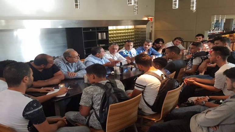 اجتماع في مدينة نايميخن بدعوة من شباب فلسطين في أوروبا – هولندا