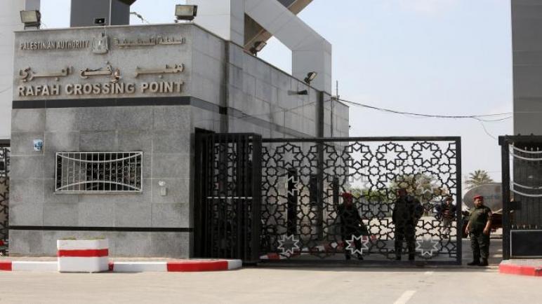 """""""تصرفات حركة حماس"""" تدفع بإغلاق معبر رفح حتى شعار آخر وحماس تقول """"غداً الأثنين فقط"""" متابعة : شوقى الفرا"""