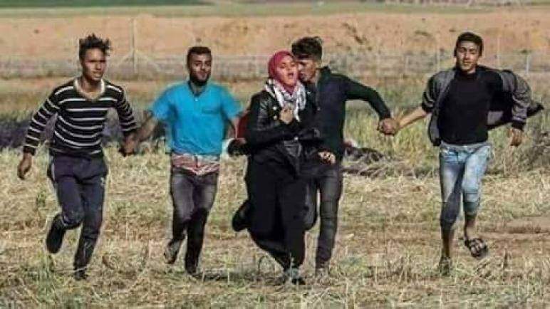 غزة مصنع الرجولة والشرف والشهادة….. عن صفحة تغريد العبسي