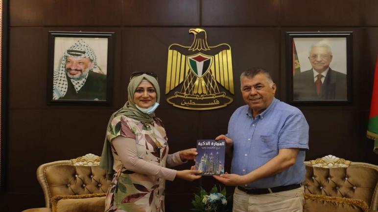 السفير نظمي الحزوري يلتقي الكاتبة الكردية سري فوزي