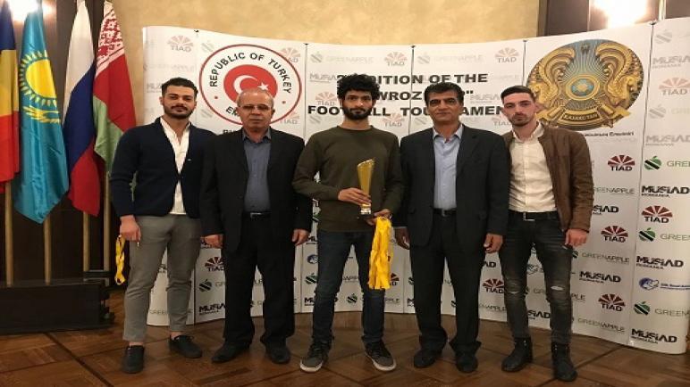 فلسطين تشارك في كأس النوروز والذي نظمته سفارتي تركيا وكازاخستان في رومانيا
