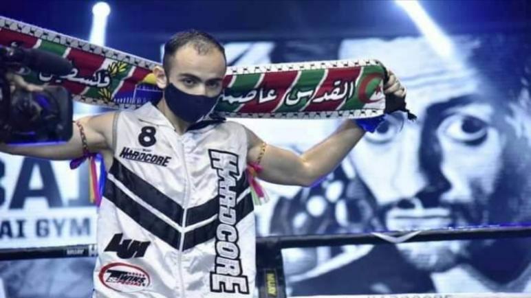 الملاكم الجزائري سيف الاسلام