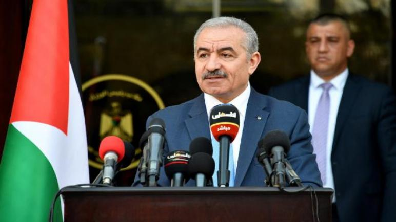 """الحكومة الفلسطينية تعلن تضامنها مع """"الجزائر"""" وإستعدادها لتقديم المساعدة ،، متابعة : شوقى الفرا"""