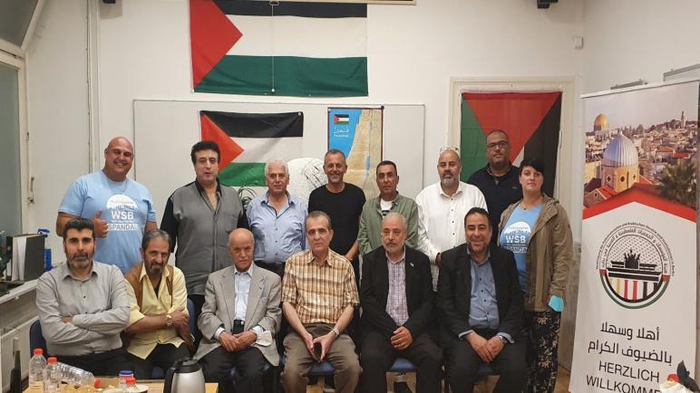 """قائمة"""" نحن برلين"""" للإنتخابات البلدية للجاليات العربيّة تزورهيئة المؤسسات والجمعيّات الفلسطينيّة العربيّة ،، متابعة : شوقى الفرا"""
