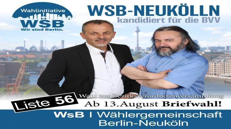 ألماني من أصل فلسطيني مرشحا للمجلس البلدي في ولاية برلين منطقة النيكولن ،، متابعة : شوقى الفرا