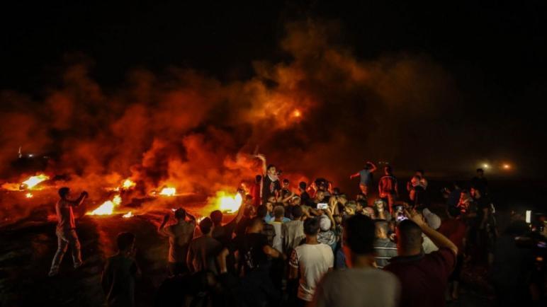 """الفصائل فى غزة تهدد """"مهلة الاحتلال انتهت والتصعيد التدريجي سيبدأ""""،، متابعة : شوقى الفرا"""