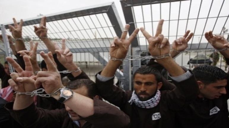 1380 أسير فلسطيني يبدأون إضرابا مفتوحا عن الطعام وهذه مطالبهم ،، متابعة : شوقى الفرا